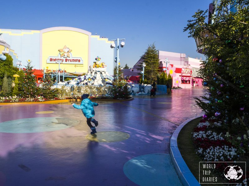 For those visiting Universal Studios Japan with little kids, be pretty sure that you'll spend most of your time in Universal Wonderland.