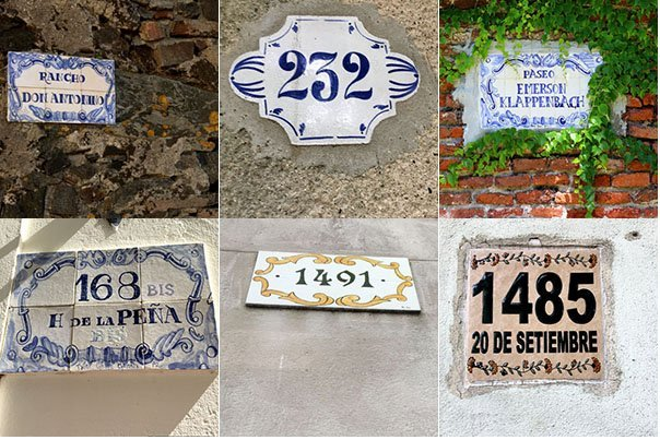 Uruguay has a lot to offer for families. We loved looking around and fining one prettier house number plate after the other.
