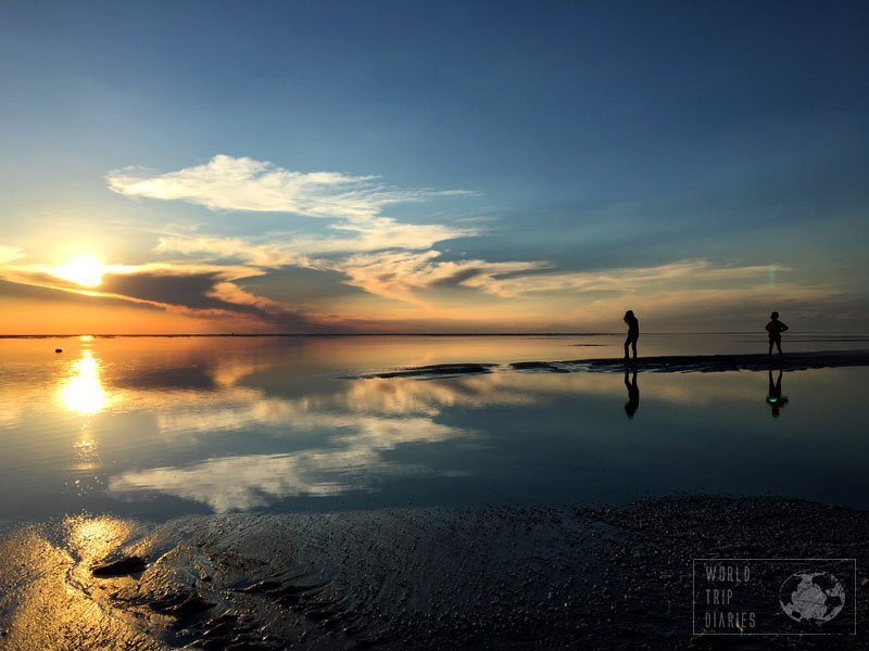 sunset uyuni bolivia