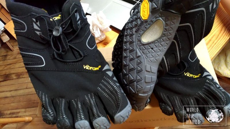 The Vibram Five Fingers shoes aren't the most beautiful shoes in the world (though some people think so) but they are incredibly comfortable! Click for more!
