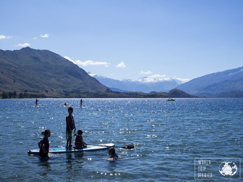 Water sports like SUP are great to practice in Wanaka: the calm waters of the lake offer the perfect starting point for anyone. Click to know more things to do in Wanaka, New Zealand, with kids